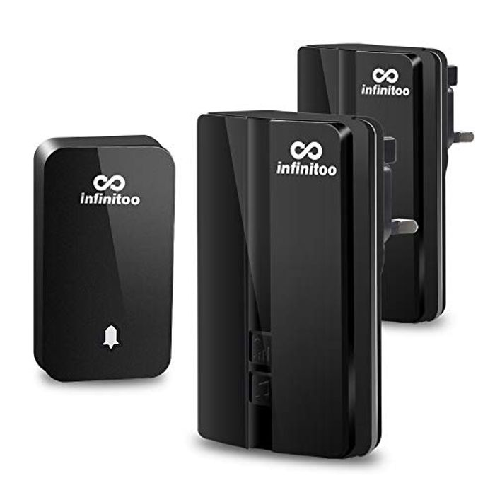 Save 60%! Electric Wireless Doorbell with 2 Receivers