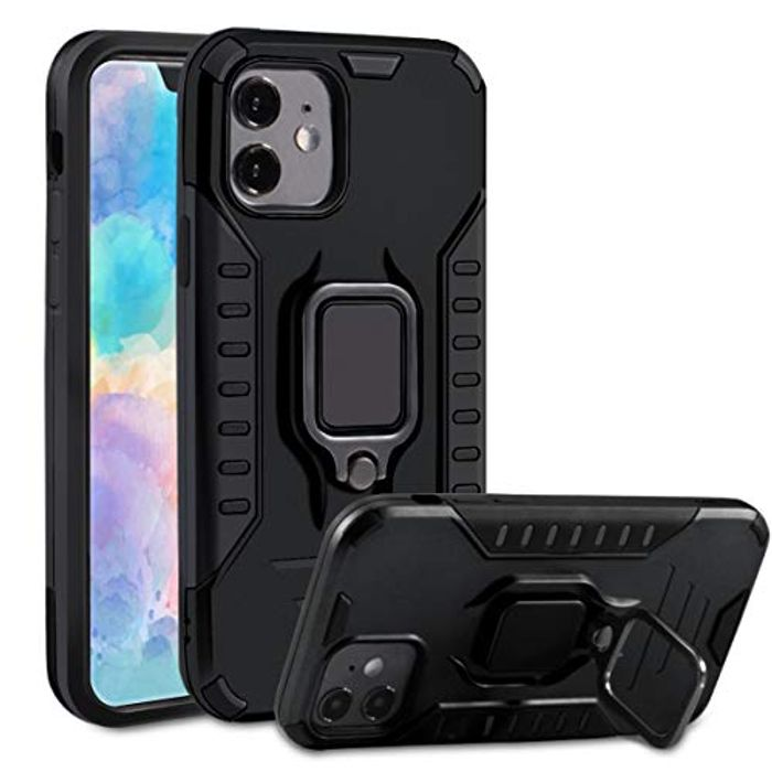 iPhone 11 Phone Case with Ring Mount Kickstand