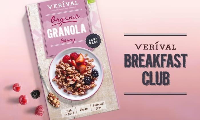 1 Of 1000 FREE Verival's Delicious Organic Berry Granola Samples