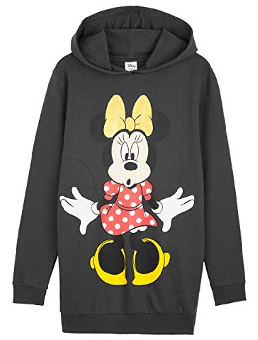 Disney Sweatshirt Dress, Minnie Mouse Hoodie