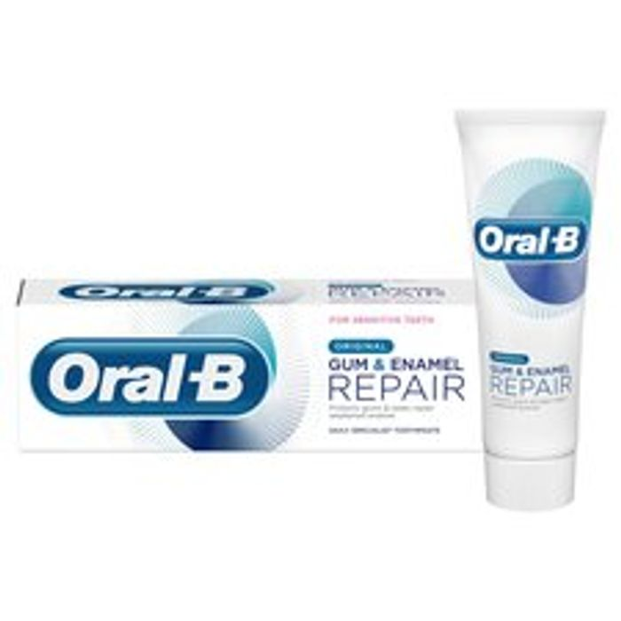 Oral-B Original Gum & Enamel Repair Toothpaste - Clubcard Price - Only £2.5!