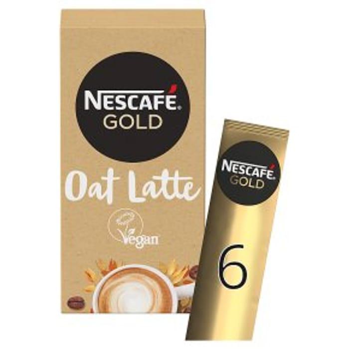 Nescaf Gold Oat Latte 6x16g - 50% Off