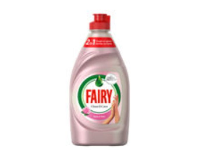Fairy Clean & Care Washing up Liquid Rose & Satin - Only £1!