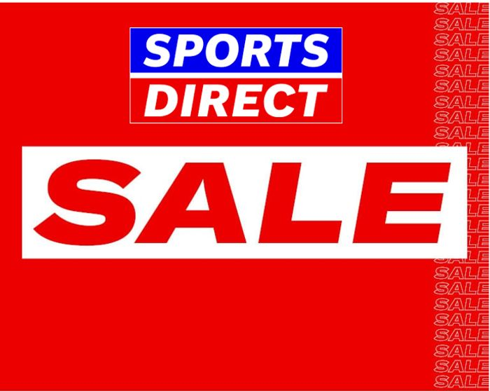 SPORTS DIRECT SALE - ON NOW!