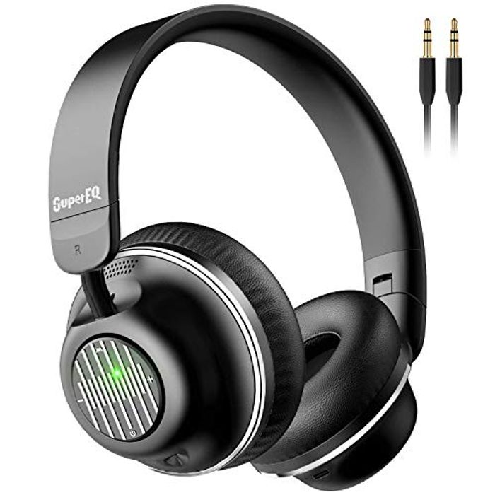 S2 Bluetooth Headphones on Ear with Mic CVC 8.0