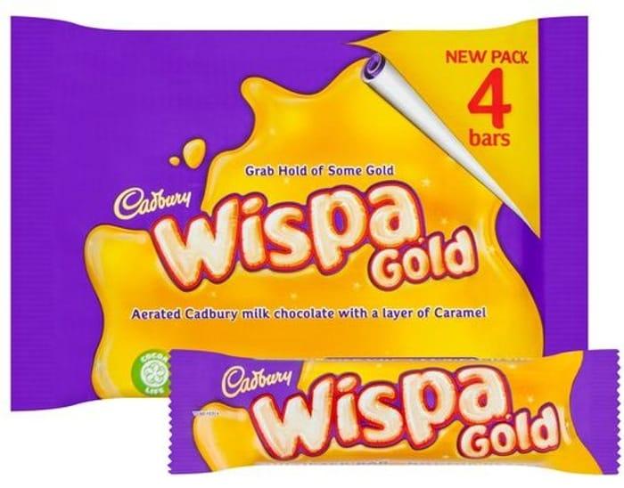Cadbury Wispa Gold 4 X 41g