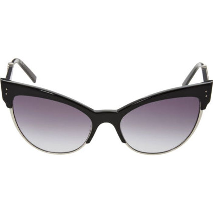MARC JACOBS Black Butterfly Cat Eye Sunglasses