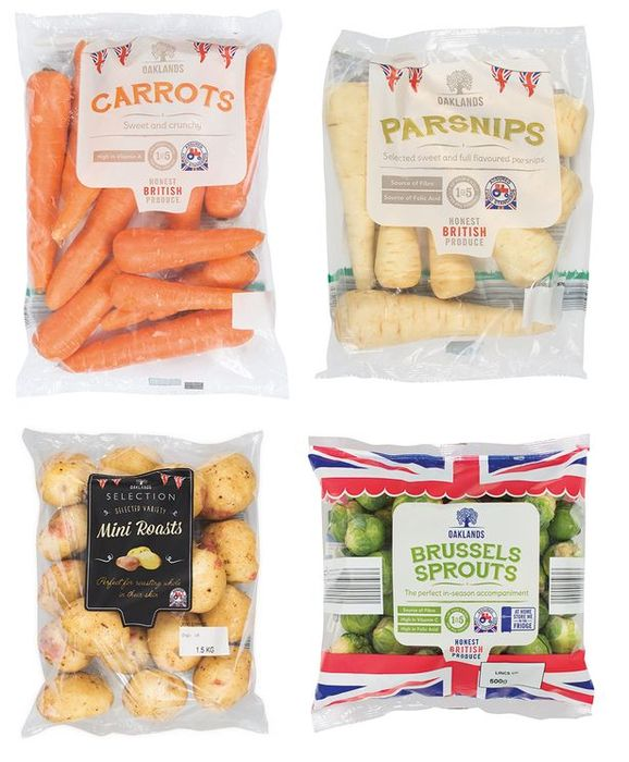 Lidl Christmas Vegetables - Only 15p Each!