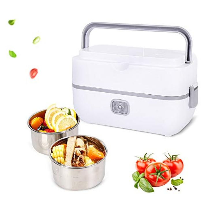 Bento Portable Food Heater with Stainless Steel Container