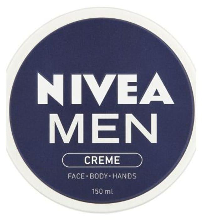NIVEA MEN Creme, All Purpose Cream for Face, Body & Hands, 150ml