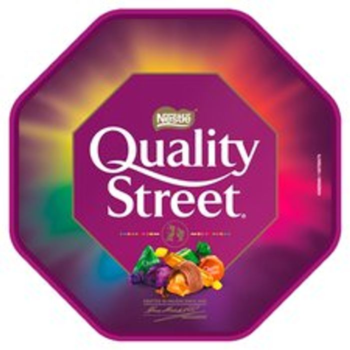 Quality Street Tub 13%off at Tesco