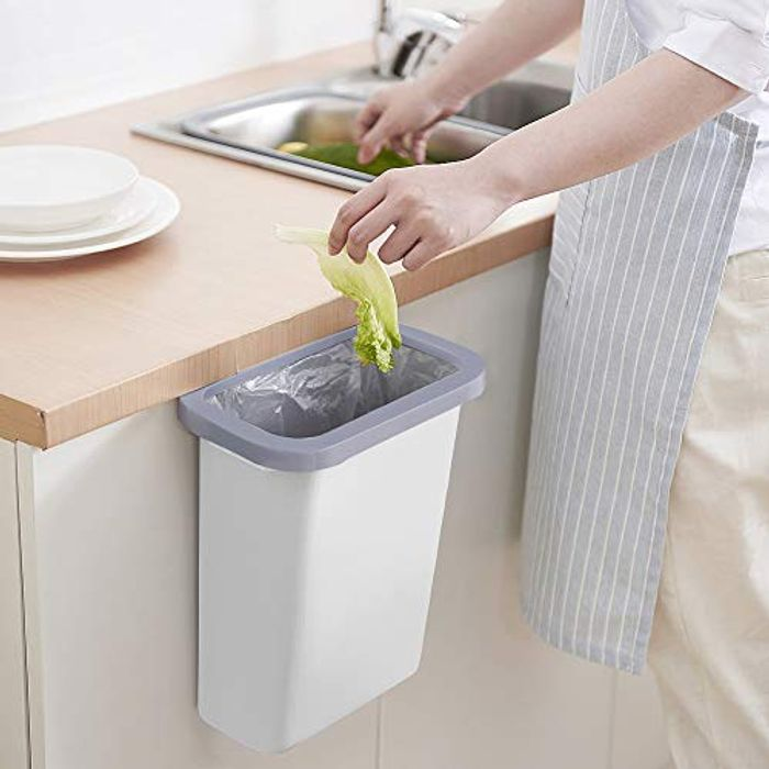 Lightning Deal! Hanging Small Trash Can
