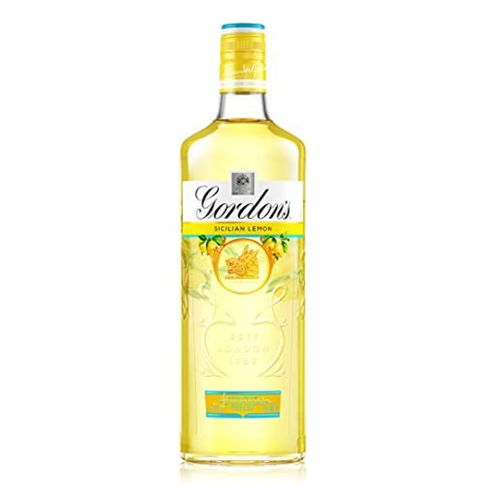 Gordon's Sicilian Lemon Distilled Gin - Only £10.64