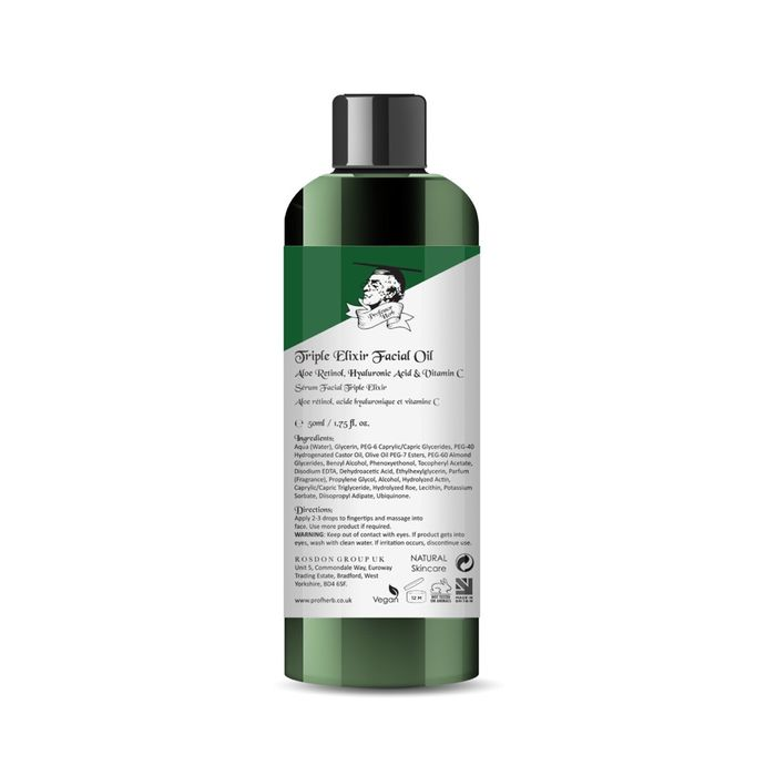 Free Triple Elixir Facial Oil worth £29.99