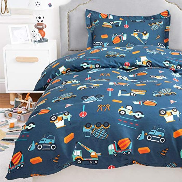 Bedsure Duvet Cover Set Cot Bed (Other Styles Available)
