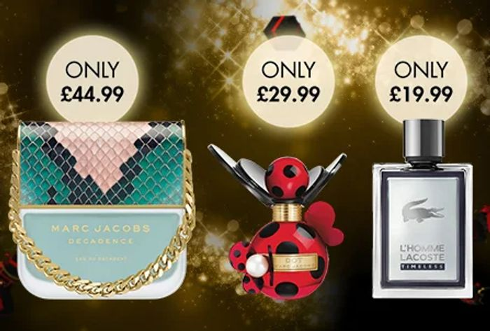 The Perfume Shop - Up To 60% Off + FREE Christmas Delivery!
