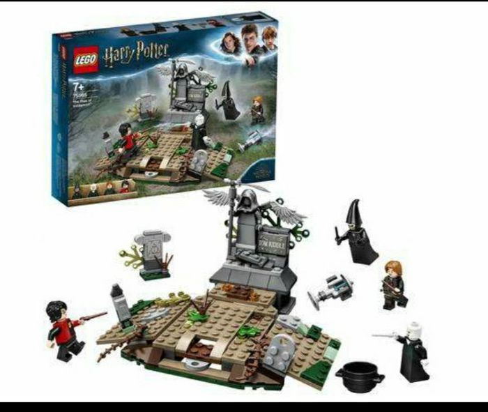 LEGO Harry Potter the Rise of Voldemort Building Set