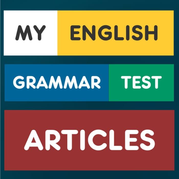 My English Grammar Test - Usually £1.79