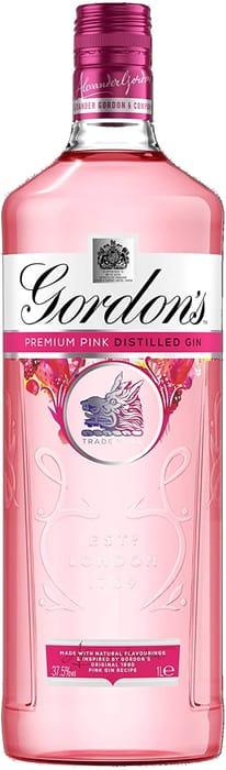 Gordon's Premium Pink Distilled Gin, 1 Litre
