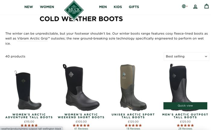 SAVE 10% at Muck Boot Company