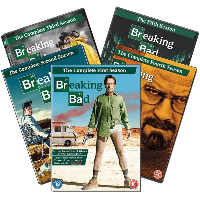 Breaking Bad: The Complete Series on DVD