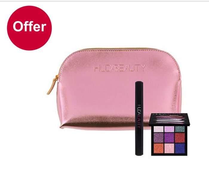 Only £28 on Selected Huda Beauty Sets - worth £47 - 2 Sets Added in