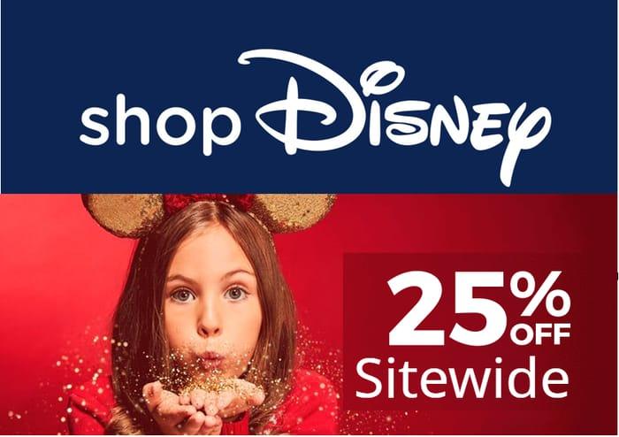 Shop Disney - 25% OFF SITE-WIDE!