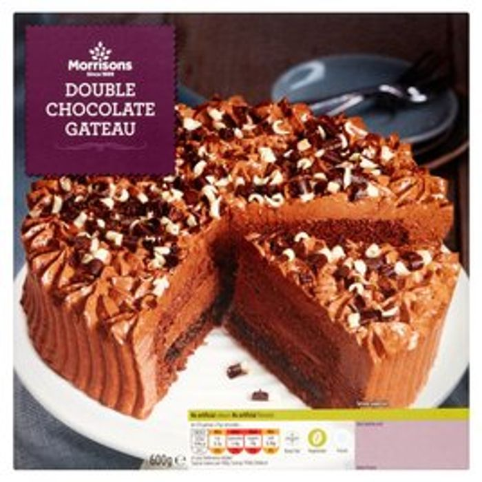 Double Chocolate 600g Gateau - £2 at Morrisons