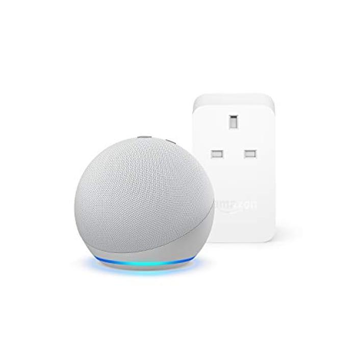 Echo Dot (Latest 4th Gen) + Free Amazon Smart Plug - £29.99 for both @Amazon