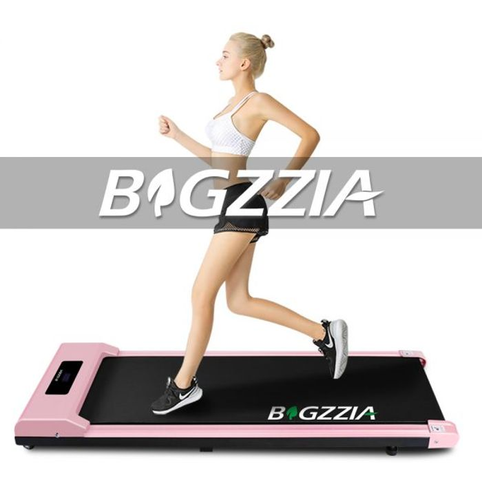 Shock-Absorbing Electric Treadmill - Pink or Black!