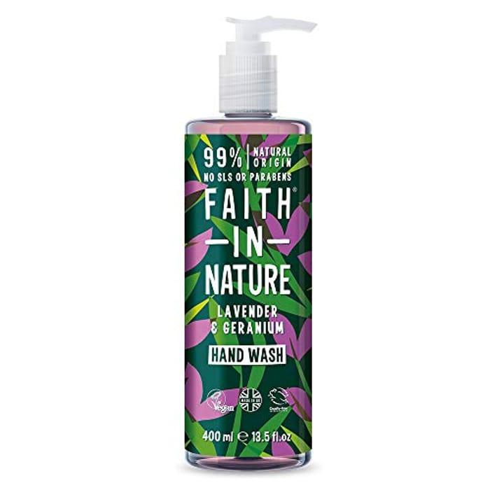Faith in Nature Natural Lavender and Geranium Hand Wash