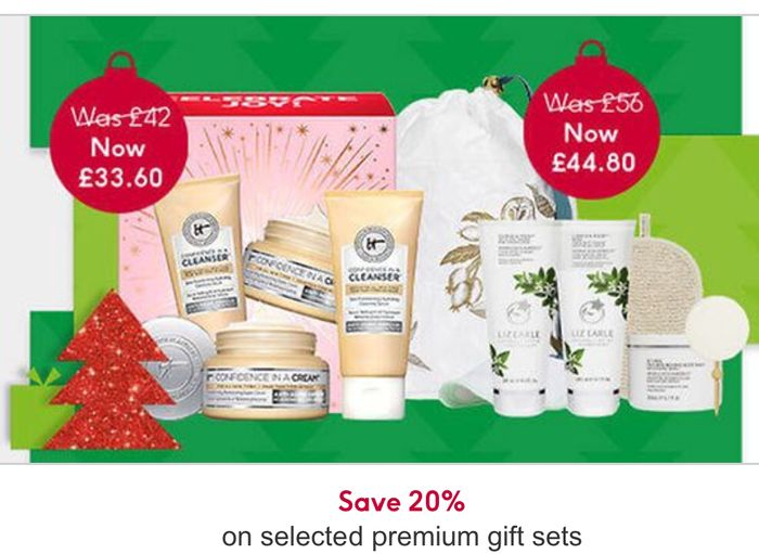 Save 20 Percent on Selected Premium Gift Sets/ 75 Gift Sets Added in