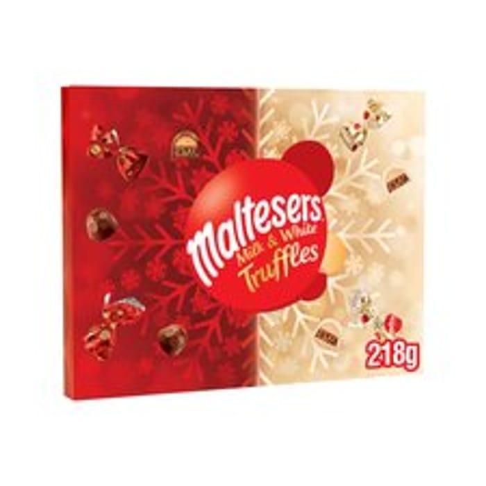 Maltesers Milk & White Truffles Mixed Chocolate Adv/Cal 218