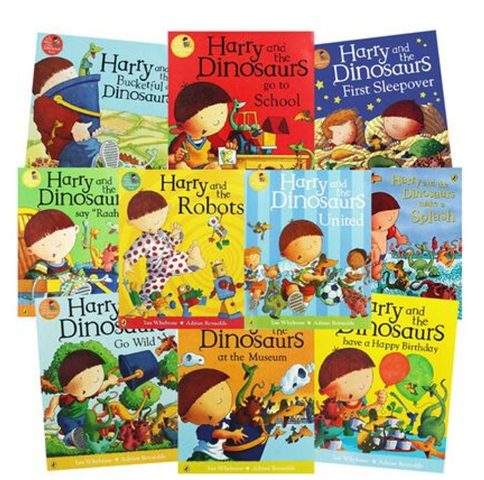 Harry and the Dinosaurs: 10 Kids Picture Books Bundle - save £59.90
