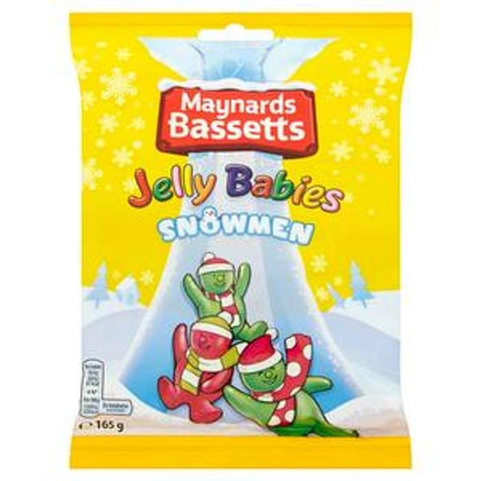 Jelly Babies Snowmen Sweets