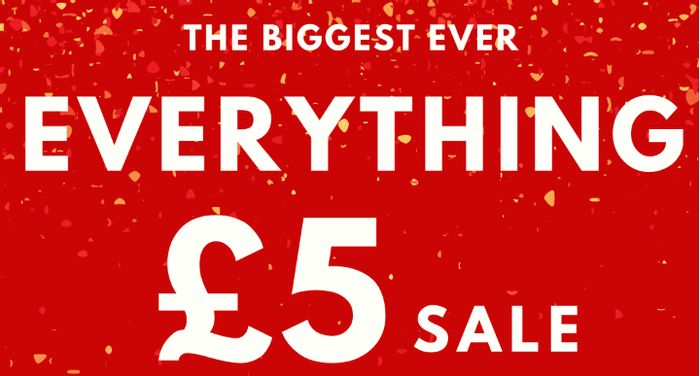Online Home Shop EVERYTHING £5 SALE