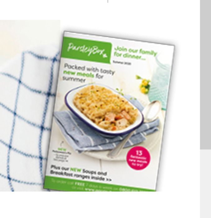 Free Parsley Box Catalogue (Meal Service)