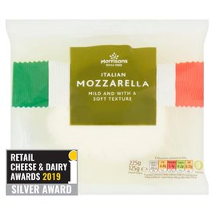 Morrisons Italian Mozzarella 125g