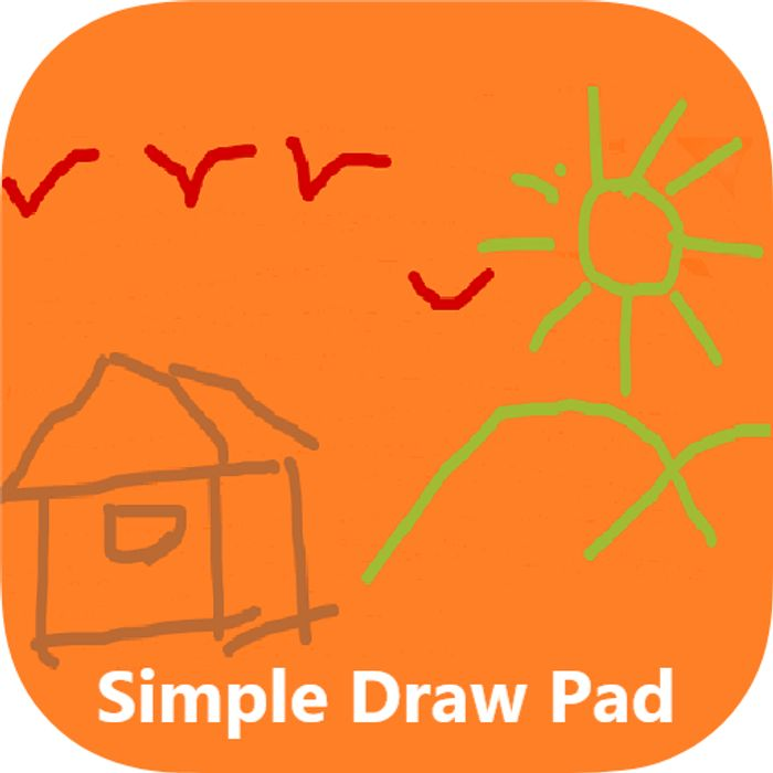 Simple Draw Pad - Usually £0.69