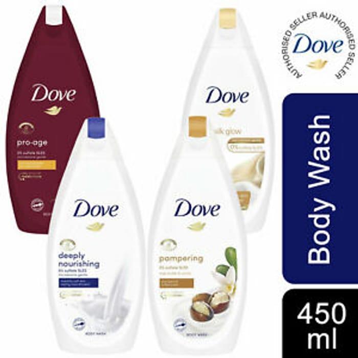 Superdrug - Better than 1/2 Dove Shower Gel 450ml