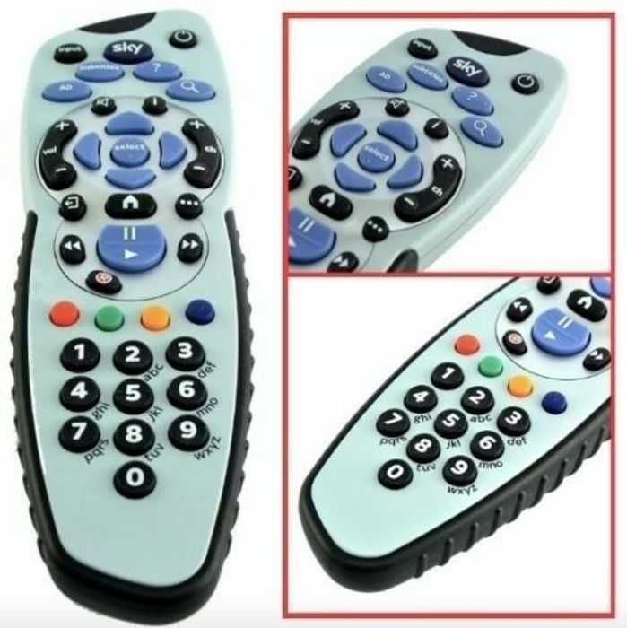 Sky Q Accessibility Remote Free to Registered Accessibility Sky Customers
