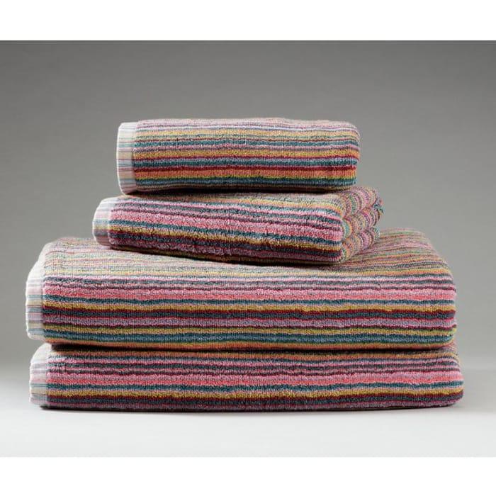 Argos Home 4 Piece Skinny Stripe Towel Bale Click & Collect