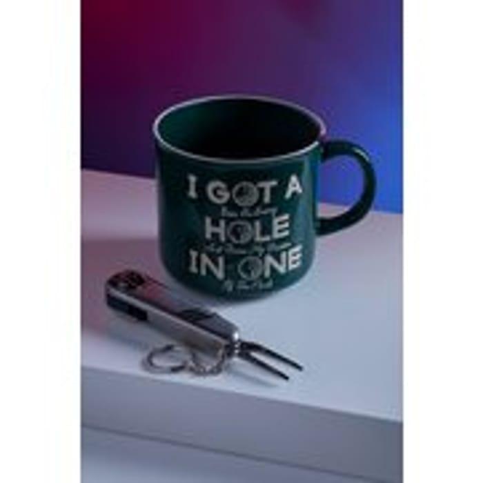 Hole in One Mug and Multi Tool
