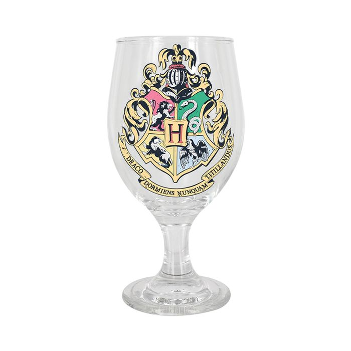 HALF PRICE - Harry Potter Hogwarts Colour Changing Glass