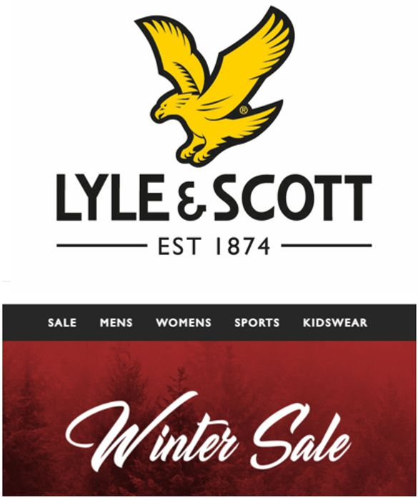 Lyle & Scott Winter Sale - up to 50% OFF
