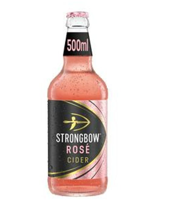 Strongbow Rose Cider 500ml - Only £1!