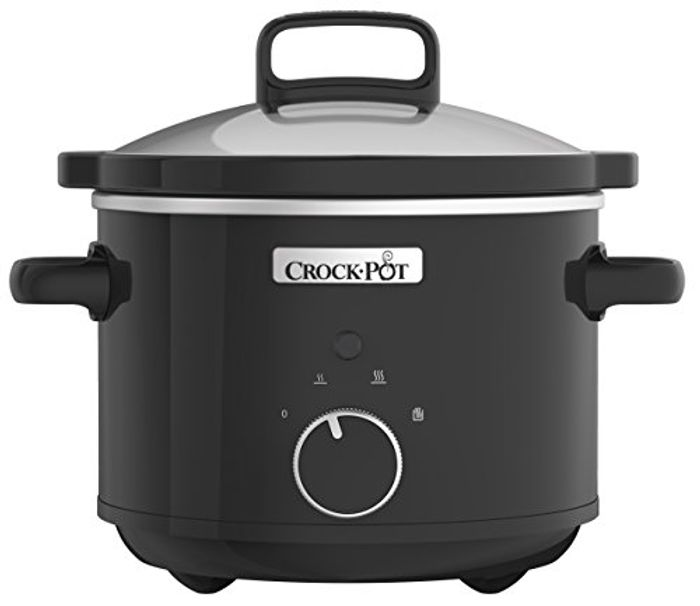 BEST EVER PRICE Crock-Pot Slow Cooker with Easy-Clean Ceramic Bowl, 2.4 Litre