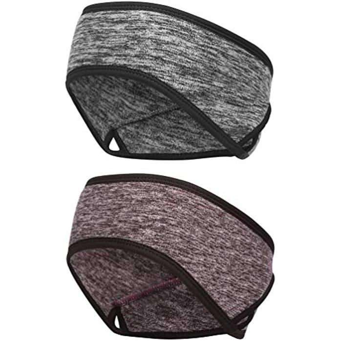 2 Pack Unisex Thermal Headbands