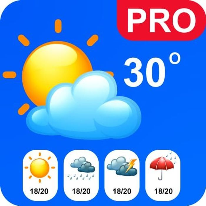 Live Weather Pro - Usually £3.89