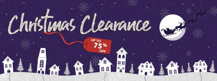 Poundshop Christmas Clearance up to 75% Off